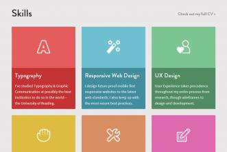 Web UI Design Trends 2013 – 10 Flat Design inspiration