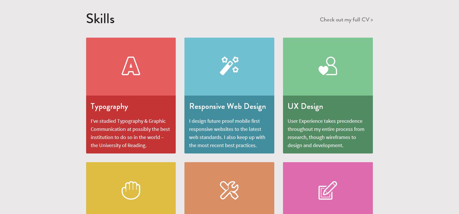 Flat UI Web Design