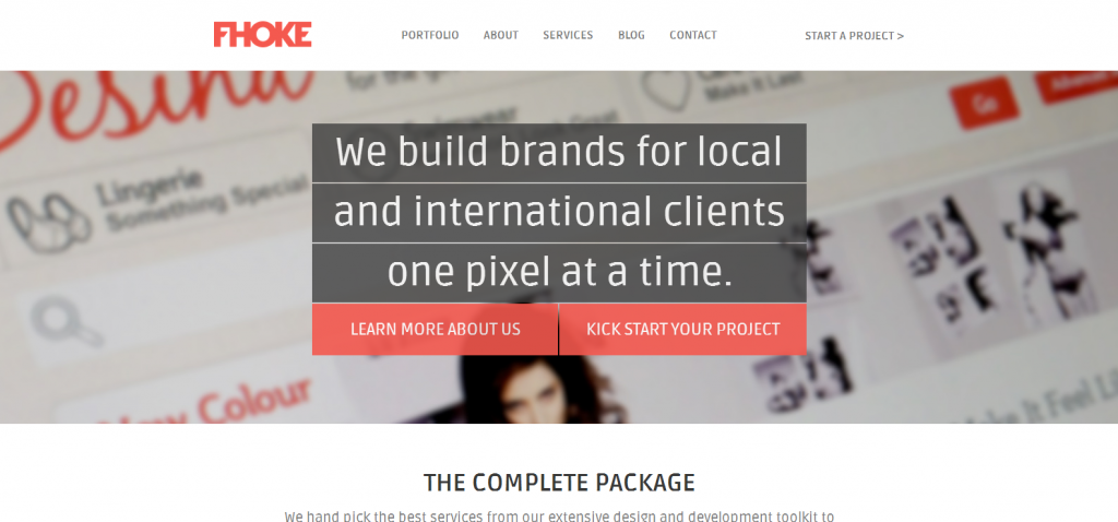 Web Design Andover  Hampshire from Website Design Agency FHOKE