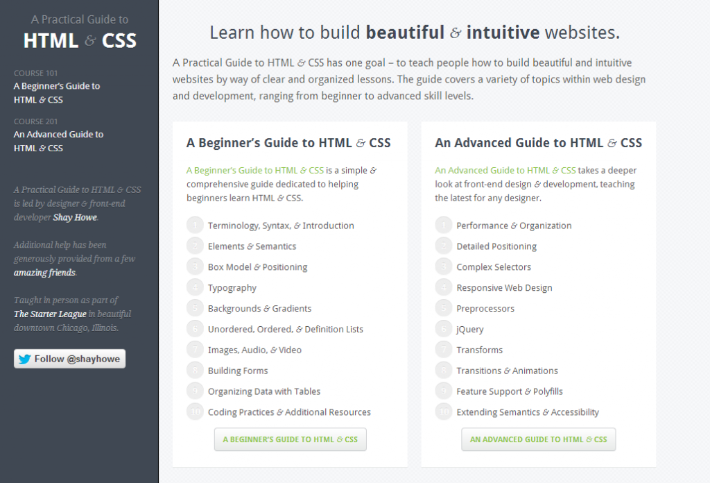 A Practical Guide to HTML   CSS   Learn How to Build Websites