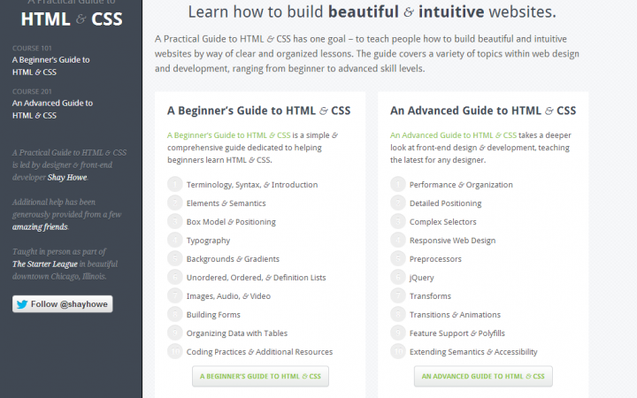A practical guide to learn HTML and CSS for Beginners
