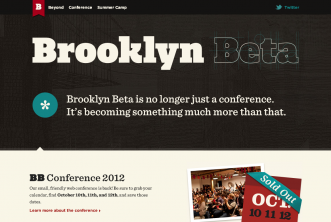20 beautifully designed Typography Website Inspiration 2013