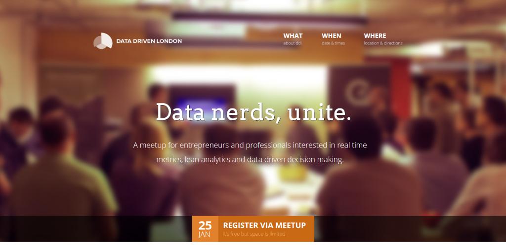 Data Driven London Meetup A Geckoboard Event