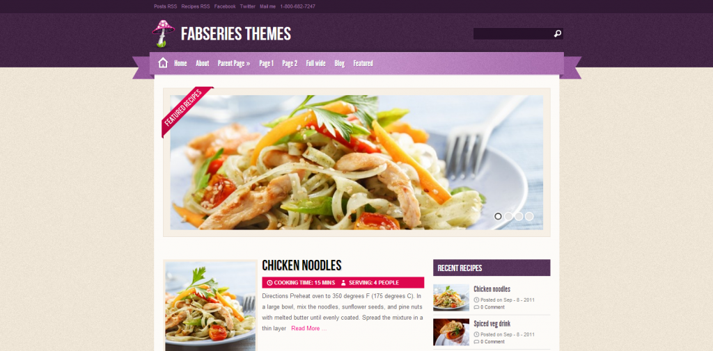 Fabseries themes