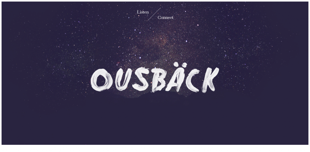Ousback Love all serve all.
