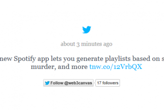 Jquery Twitter feed ticker for websites