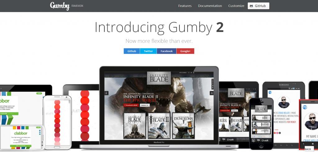 Gumby - A Flexible, Responsive CSS Framework - Powered by Sass - gumbyframework_com