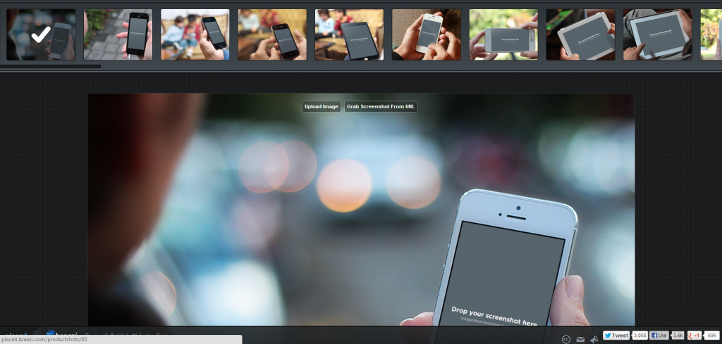 PlaceIt by Breezi - Generate Product Screenshots in Realistic Environments - placeit_breezi_com