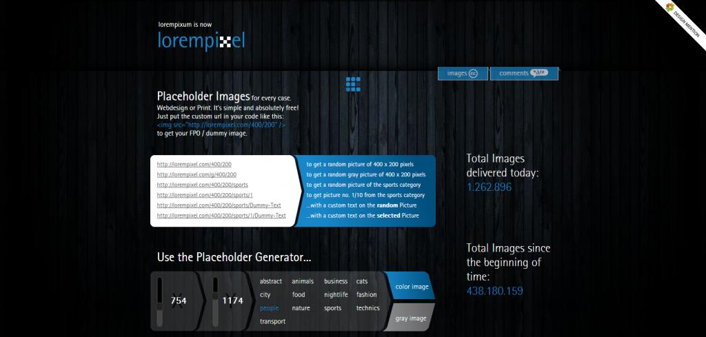 lorempixel - placeholder images for every case - lorempixel_com