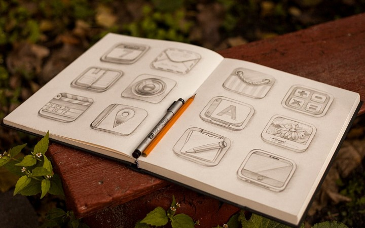 20 super natural skeuomorphic ios icons for inspiration