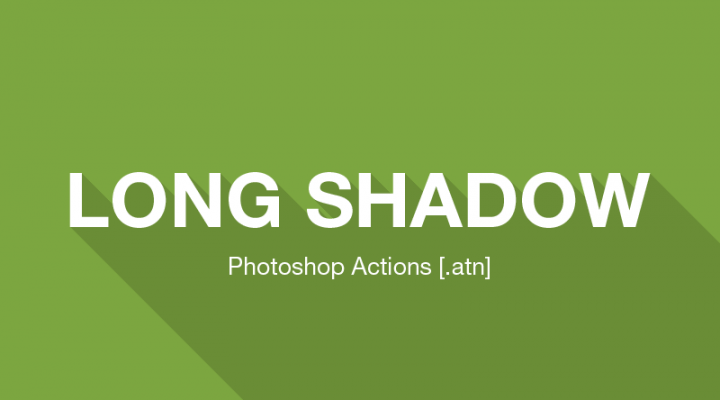 Long Shadow Generator Photoshop Action (atn)