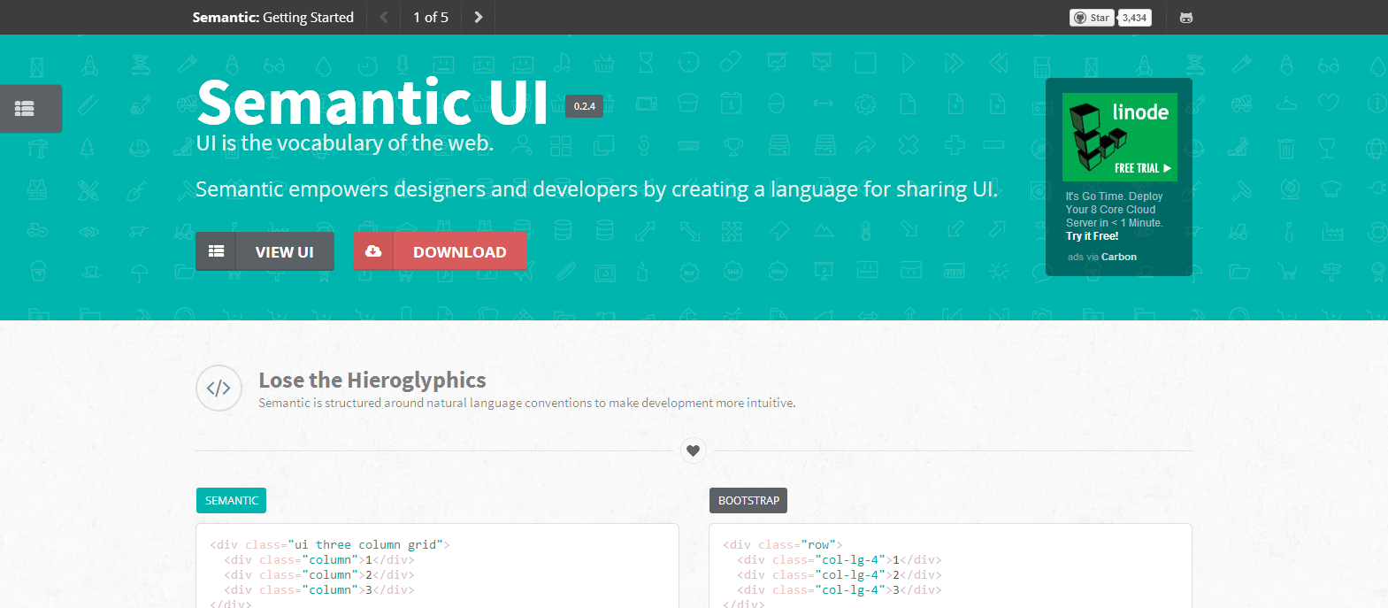 Getting Started Semantic UI