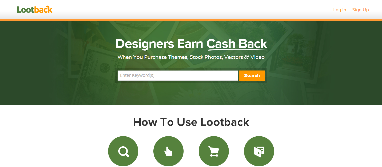 Lootback Cash Back for Designers Developers