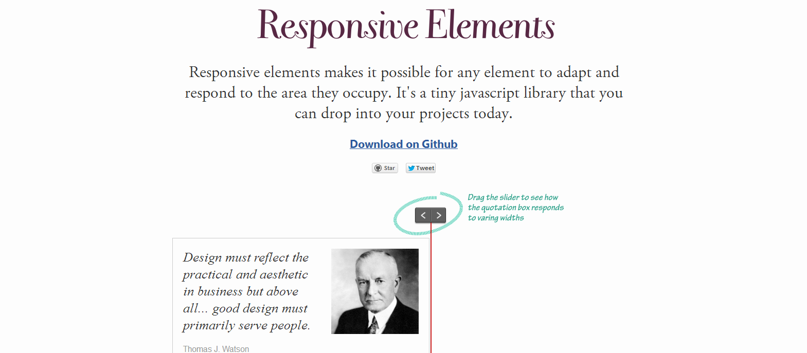 Responsive Elements Helps you build better responsive websites