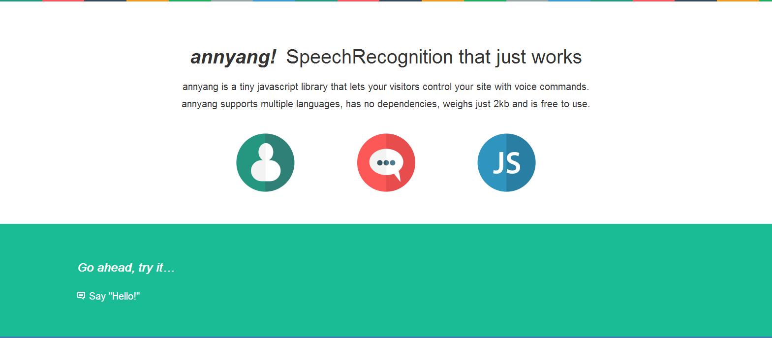 annyang  Easily add speech recognition to your site