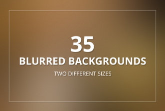 35 Blurred Backgrounds