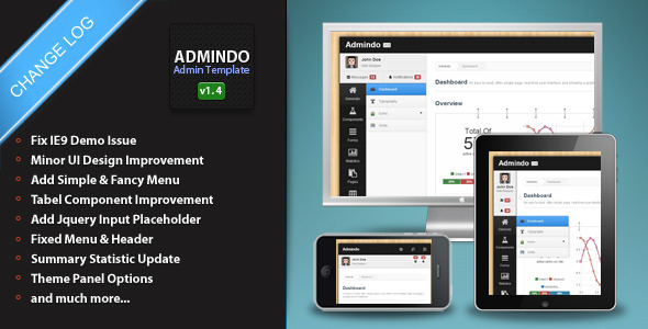 Admindo - Responsive Admin Template