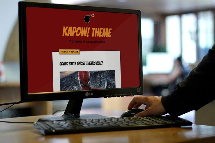 Kapow-Comic-Style-Ghost-Theme