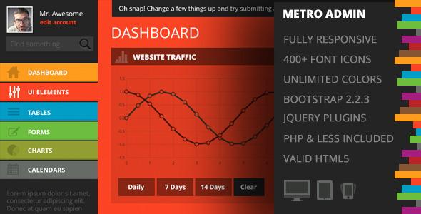 METRO - Premium Admin Template