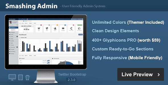 Smashing - Premium Admin Template