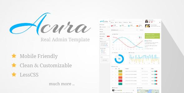 acura-admin-template