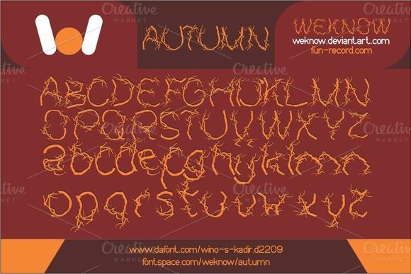 autumn-halloween-font