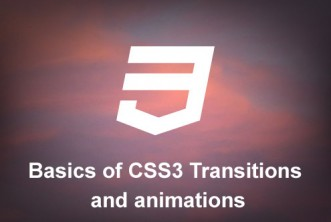 Learn Basics of CSS3 Transitions and animations – Tutorial