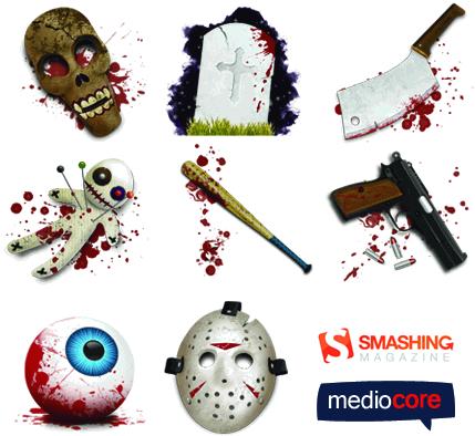 halloween-horror-icons