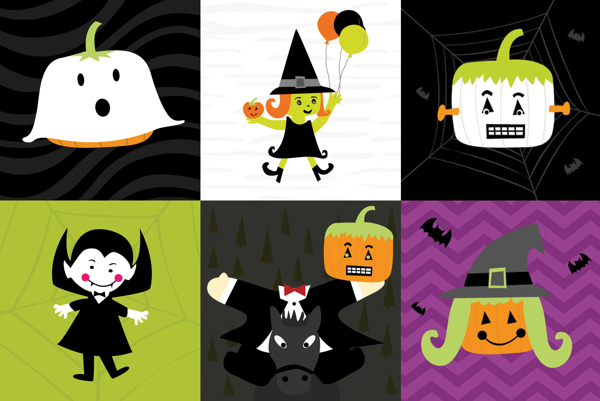 halloween-monster-series