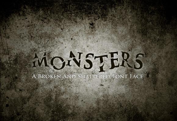 halloween-monsters-font