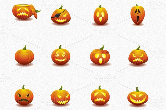 halloween-pumkin-icons