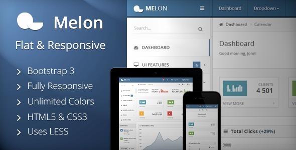 melon-admin-template
