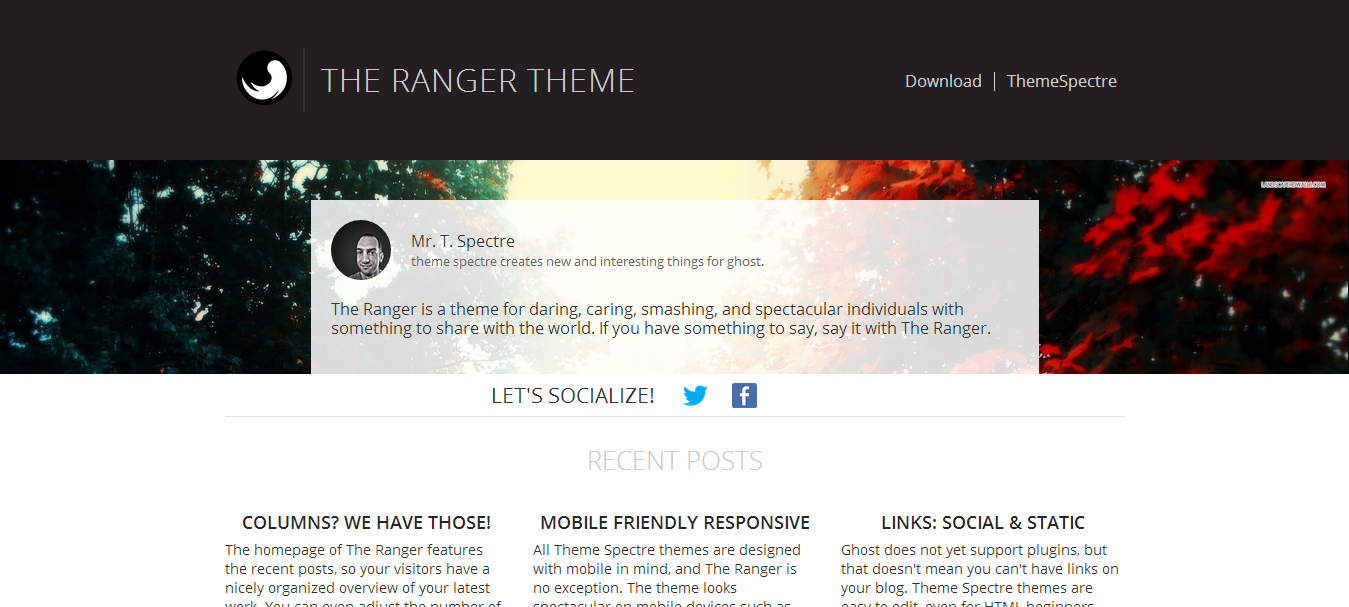 ranger-ghost-theme