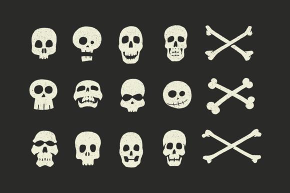 vector-skulls-crossbones-shape-halloween