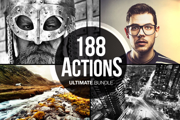188 photo Actions Ultimate Bundle toms
