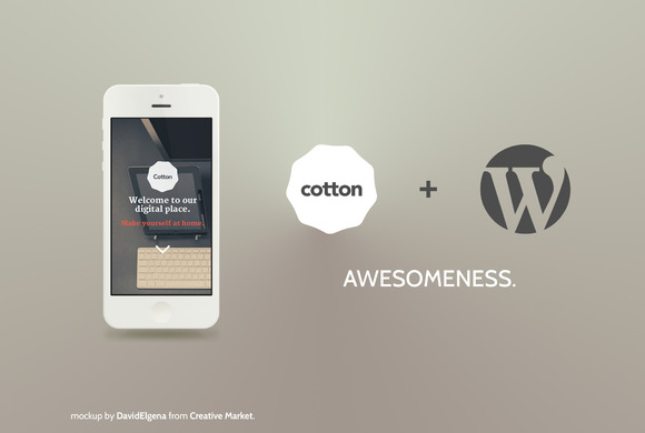 Cotton WordPress-Boostrap 3