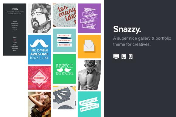 Snazzy Portfolio Theme