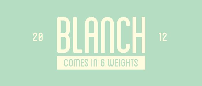 blanch-retro-vintage-font