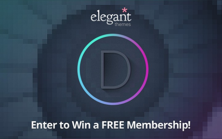 WP Giveaway: Win a Free Membership from Elegant Themes (ended)