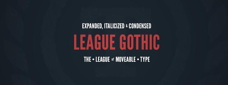 league-gothic-vintage-retro-font
