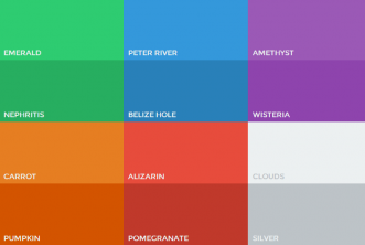 Flat UI Color swatches photoshop aco