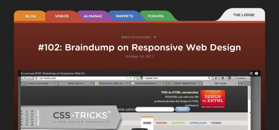 102  Braindump on Responsive Web Design   CSS Tricks
