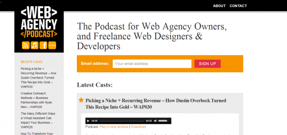 Web Design Agency Podcast – The Show For Growing Your Web Design Business