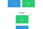 Re-order columns in mobile devices using bootstrap 3 (without using Flexbox)