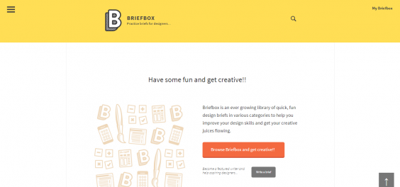 Briefbox   Practice briefs for designers…