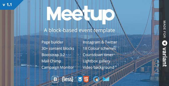 meetup-event-landing-template