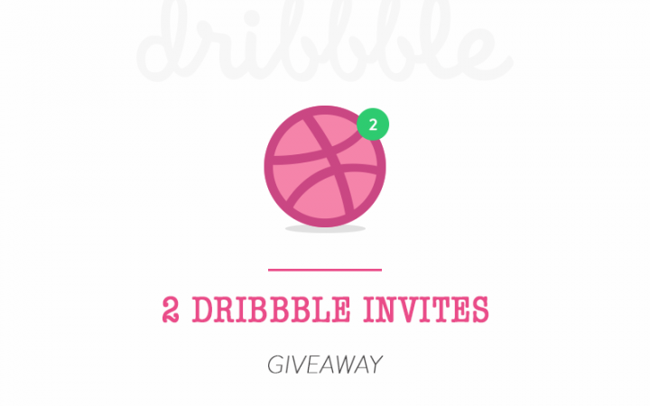 2 x Dribbble Invite Giveaway (ended)