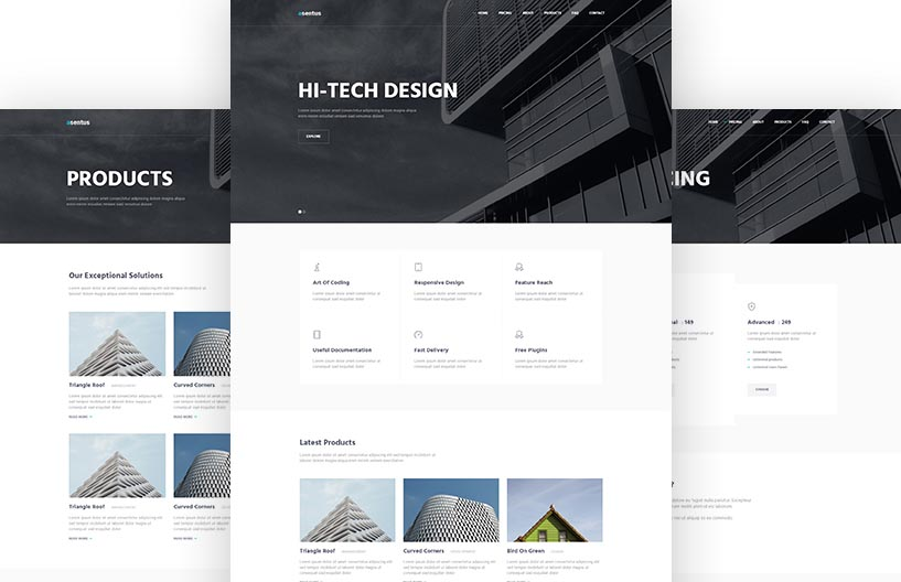 Free Bootstrap Corporate Website Template - Asentus
