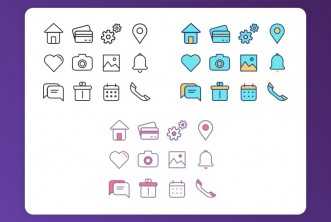 Designers Favourite Icons set