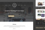 Best Education Website Templates of 2017 (HTML)